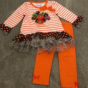 Nannette Kids 2T Thanksgiving Outfit